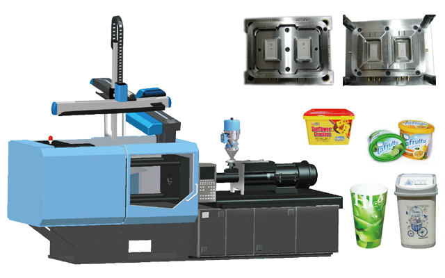 IML injection molding machine